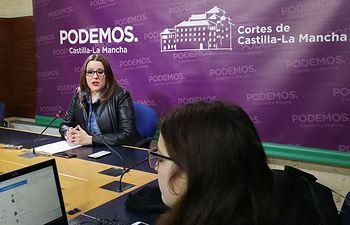 María Díaz, secretaria de Organización de PODEMOS-CLM.