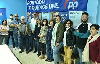 Merino mantiene un encuentro con afiliados y simpatizantes del PP de Miguelturra.