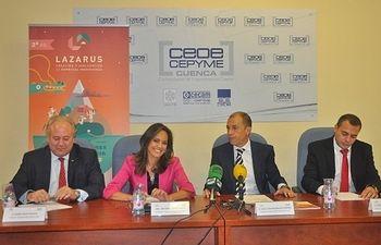 """López Casero: """"'Lazarus 2' crea nuevos negocios que estimulan el desarrollo socioeconómico de CLM"""""""