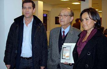 Jesús Barrajón, José Corredor-Matheos y María Rubio.