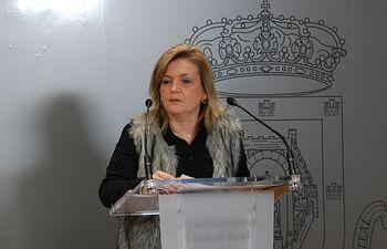 La viceportavoz del Grupo Municipal Popular del Ayuntamiento de Ciudad Real, Aurora Galiste