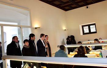 Sala de estudios de la Posada del Rosario.