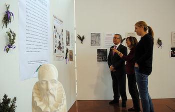 La muestra permanece en el edificio Benjamín Palencia