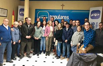 Reunión comarcal con representantes del PP de Villarrubia de los Ojos, Arenas de San Juan, Fuente el Fresno y Las Labores. Foto: PP Ciudad Real.