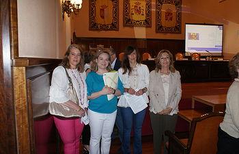 María Gil y Llanos Navarro asisten a la entrega de los Premios sin Gluten organizados por la Asociación de Celíacos de CLM