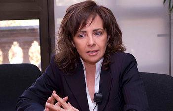 Carmen Oliver, alcaldesa de Albacete. Foto de archivo.