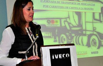 """Rosa Romero: """"En la primavera del 2015 darán comienzo las obras de la Autovía Toledo - Ciudad Real, una infraestructura necesaria para el sector del transporte"""""""