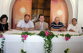Inauguración del Curso de Verano en la localidad conquense de Las Majadas.