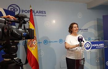 Silvia Valmaña, diputada del PP por Guadalajara.