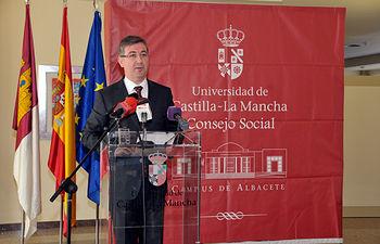 Marin Reconocimientos Consejo Social. Foto: JCCM.