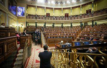 Intervención de la diputada de Euskal Herría Bildu Mertxe Aizpurúa. Foto: @Congreso_Es.