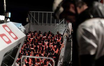 Barco Aquarius-8 - Imagen TVE
