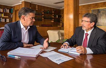 Antonio Luengo y Manuel González Ramos