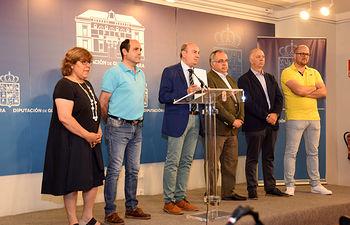 Rueda de Prensa ofrecida por el presidente en funciones de la Diputación de Guadalajara, José Manuel Latre.