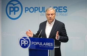 Francisco Cañizares, presidente PP Ciudad Real.