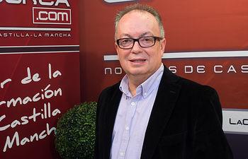 Francisco Quiles, candidato a rector de la Universidad de Castilla-la Mancha.