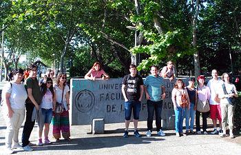 Fotografía del grupo de participantes de CECAP que se desplazaron a Madrid para participar en el proceso selectivo.