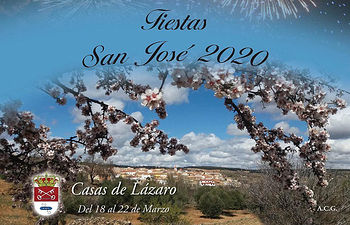 Programa de Fiestas de Casas de Lázaro 2020.