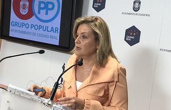 Aurora Galisteo, viceportavoz del GPP Ayto. Ciudad Real.