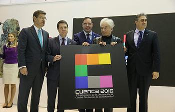 El presidente de Castilla-La Mancha, Emiliano García-Page, asiste en FITUR a la presentación de la programación del 20 aniversario de Cuenca como Ciudad Patrimonio de la Humanidad. (Fotos: Ignacio López // JCCM)