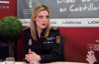 Genoveva Armero, inspectora jefa de la Unidad de Familia y Mujeres (UFAM) de la Policía Nacional de Albacete. Foto: Manuel Lozano García / La Cerca