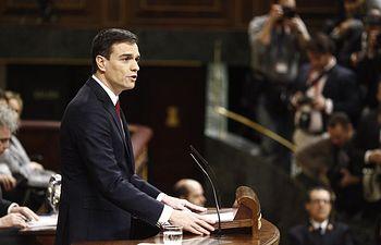Pedro Sánchez - Segunda votación - 04-03-16