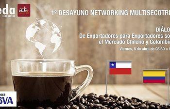 Desayuno networking multisectorial en FEDA de exportadores para exportadores