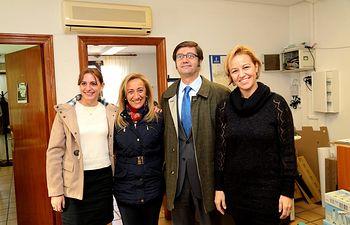 Arturo Romaní visita Ayuntamiento Nambroca. Foto: JCCM.