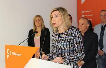 María Dolores Arteaga, cabeza de lista al Congreso de los Diputados por Cs en Albacete.
