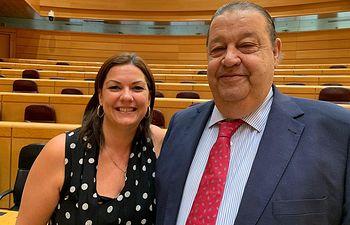 Jesús Fernández Vaquero y Mayte Fernández .