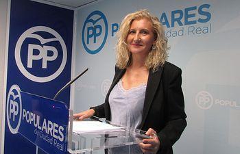 Rosario Roncero, concejal del Grupo Municipal Popular del Ayuntamiento de Ciudad Real.