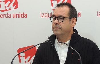 Juan Ramón Crespo, coordinador regional de IU en Castilla-La Mancha.