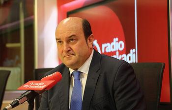 Andoni Ortuzar, presidente del EBB del PNV.