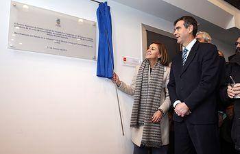 Cospedal inaugura el Centro Municipal de Familia Cuartel del Henares. Foto: JCCM.