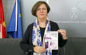 Victoria Delicado, concejala de Ganemos Albacete.
