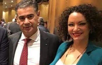Manuel González Ramos y María Luisa Vilches, diputados del PSOE por Albacete.