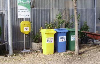 Isla Ecológica edn el Centro Ocupacional de Bargas