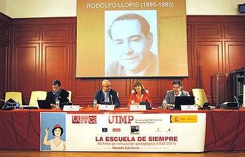 Ángeles García en la inauguración de la Semana pedagógica organizada por la UIMP en Cuenca