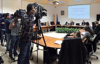 AEMET rueda prensa estacional predicción estacional. Foto: Ministerio de Agricultura, Alimentación y Medio Ambiente