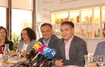 Desayuno informativo con representantes de los medios de comunicación en el Restaurante-Escuela de Hostelería de la Fundación El Sembrador.