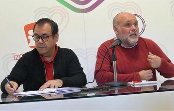 Juan Ramón Crespo y José María Fernández.