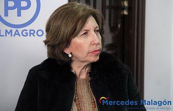 Mercedes Malagón, candidata a la alcaldía de Almagro por el PP