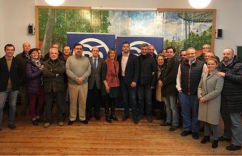 Renovación Junta Local PP Cabanillas. Febrero 2018