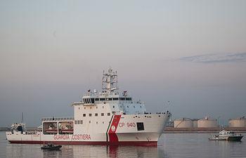 Llegada de Aquarius a Valencia. Foto: Kenny Karpov/SOS Mediterranee