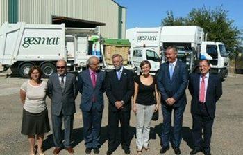 Recepción camiones de recogida de residuos