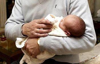 Paternidad. Foto: EFE