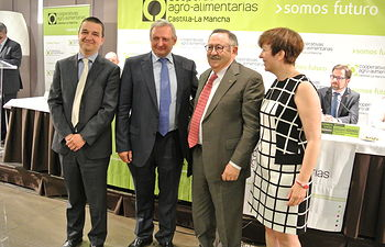 Clausura de la Asamblea General de Cooperativas Agroalimentarias de Castilla-La Mancha. Foto: JCCM.