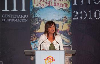 Carmen Oliver, alcaldesa de Albacete.