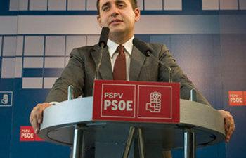 Jorge Alarte, líder del PSPV