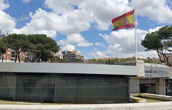 Bandera de España - Plaza de Colón - Madrid